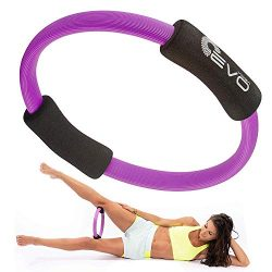 Yoga EVO Pilates Ring Magic Circle Inner Thigh 12″ – Thigh Master for Inner Thighs P ...