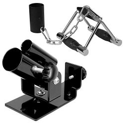 Yes4All Combo T-bar Row Platform, Eyelet Attachment & Double D Handle/Row Double Handle R ...