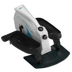 Under Desk Elliptical Stepper – Best Portable Trainer – Compact Strider – Seat ...