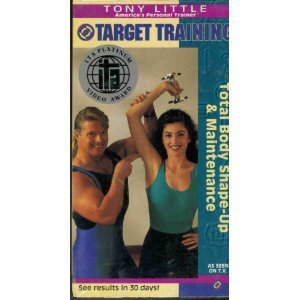 Tony Little – Target Training – Total Body Shape-Up & Maintenance [VHS]