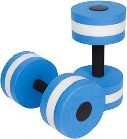 Trademark Innovations Aquatic Exercise Dumbells – Set of 2 – for Water Aerobics