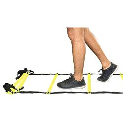 AMBER Sports Speed and Agility Training Ladder for high Intensity Training Boxing, Soccer, Footb ...