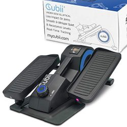 Cubii Jr. – Seated Under-Desk Elliptical – Get Fit While You Sit – Built-in Di ...