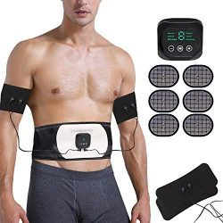 Abs Stimulator Abdominal Trainer Ultimate Waist Trimmer Ab Stimulator Men Women Work Out Ads Pow ...