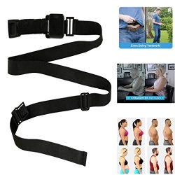 Fine 2PC Abdominal Training Belt,Posture Corrector,Abdominal Training Belt System Your Invisible ...