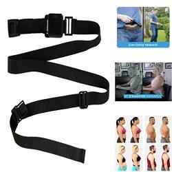 Fine 2PC Abdominal Training Belt,Posture Corrector,Abdominal Training Belt System Your Invisible ...