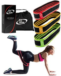 Fabric Resistance Bands Set – Booty Hip Bands for Legs, Shoulders and Arms Exercises ̵ ...