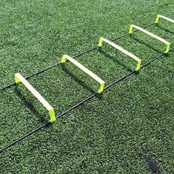 Fitness Health FH Elevated Speed Ladder Agility Training | Football Performance Training | 6 Inc ...