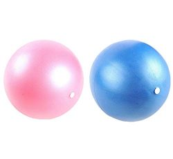 Mini Yoga Pilates Ball 6 Inch for Stability Exercise Training Gym Anti Burst and Slip Resistant  ...