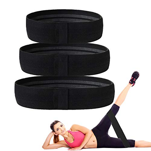 Exercise Bands – Deal Resistance Bands for Legs and Butt, Body Stretching, Bands for Yoga, ...