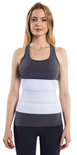 NYOrtho Abdominal Binder Lower Waist Support Belt – Compression Wrap for Men and Women (30 ...