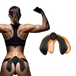 MOORAY SPORT Abs Stimulator Hips Trainer Buttock Toner EMS Electrical Abs Trainer Ab Stimulator  ...
