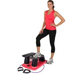 ALLWORLD Air Stepper Climber Fitness Machine Resistant Cord Air Step Aerobics Machine Stair Step ...
