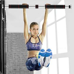 Doorway Pull Up and Chin Up Bar Upper Body Workout Bar for Home Gym Exercise Fitness & 440 LBS
