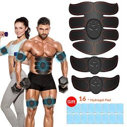 vecloo Abdominal Muscle Trainer Abs Stimulator Muscle Toner Upgraded Fitness Training Equipment  ...