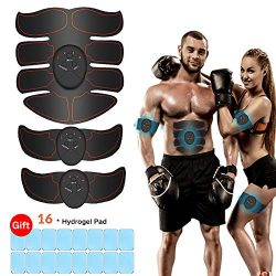 iThrough Abs Stimulator, Abdominal Muscle Trainer Muscle Toner for Men & Women – Losin ...