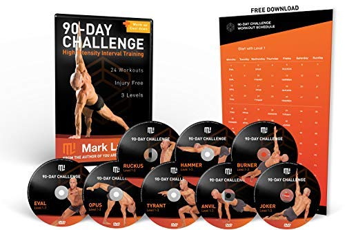 Mark Lauren Workout DVD – Bodyweight 90-Day Challenge | Total Fitness Bodyweight Exercise  ...