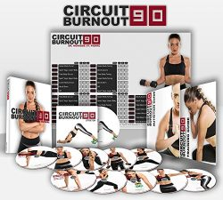 Circuit Burnout 90: 90 Day DVD Workout Program with 10+1 Exercise Videos + Training Calendar, Fi ...