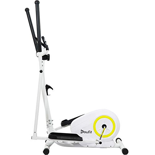 Doufit Elliptical Machine for Home Use, EM-01 Portable Elliptical Trainer for Aerobic Exercise,  ...