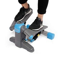 FLEXISPOT Step Machine Exercise Stepper in-Motion Elliptical Trainer Under Desk Stepper Home Gym ...