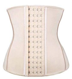 SHAPERX Women's Latex Waist Trainer Corset for Weight Loss – Postpartum abdome Sport ...