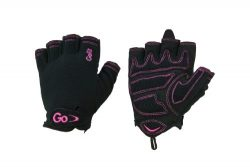 GoFit Xtrainer Cross Training Glove – Synthetic Leather Palm for Women – Medium