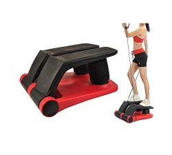INTBUYING Air Stepper Climber Fitness Machine Resistant Cord Air Step Aerobics Machine Stair Ste ...