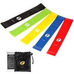 Etoplus Resistance Bands – Set of 5 Exercise Bands, Resistance Loops Workout Bands for Phy ...