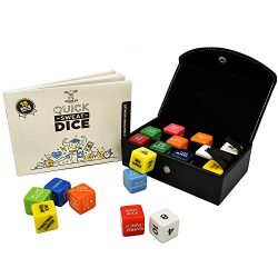 Stack 52 Quick Sweat Fitness Dice. Bodyweight Exercise Workout Game. Designed by a Military Fitn ...