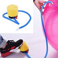 Owlhouse Yoga Balls Inflatable Pump, Exercise Fitness Ball, Air Inflator Yoga Ball Massage Ball  ...