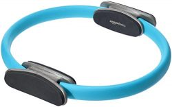 AmazonBasics Pilates Fitness Resistance Training Magic Circle Ring – 14 Inch, Blue