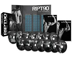 RIPT90: 90 Day 14-DVD Workout Program with 14 Exercise Videos + Training Calendar & Fitness  ...
