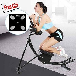 Semper Abdominal Coaster Exercise Machine Muscle Fitness Workout Home Use