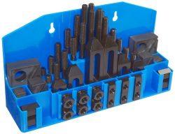 TE-CO 20402PL Machinist Promo Kit, 5/8″ Table T-Slot x 1/2-13″ Stud, 52 Pieces