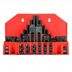58 Pc Pro-Series 7/16″ T-Slot Clamping Kit Bridgeport Mill Set Up Set 3/8-16