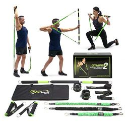 Gymwell Portable Resistance Workout Set 2.0, Free Workout Resource, Total Body Workout Equipment ...