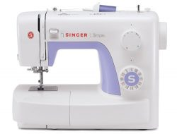 SINGER | Simple 3232 Portable Sewing Machine with 32 Built-In Stitches Including 19 Decorative S ...