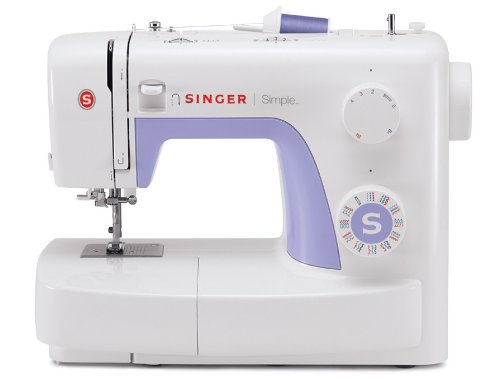 SINGER   Simple 3232 Portable Sewing Machine with 32 Built-In Stitches Including 19 Decorative S ...