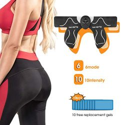 MOICO Butt Hips Trainer 2019 Upgrade Muscle Toner Fitness Training Gear Home Office Ab Trainer W ...