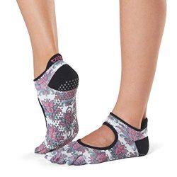 ToeSox Grip Pilates Barre Socks – Non-Slip Bellarina Full Toe for Yoga & Ballet