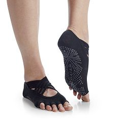 Gaiam Grippy Studio Yoga Socks for Extra Grip in Standard or Hot Yoga, Barre, Pilates, Ballet or ...