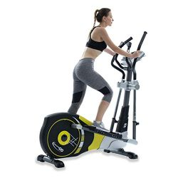 V-450X Standard Stride 18″ Programmable Elliptical Exercise Cross Trainer with Adjustable  ...