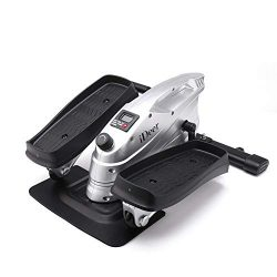 ideer life Under Desk Elliptical Trainers,Pedal Exerciser Elliptical Stepper Machine,Mini Quiet  ...