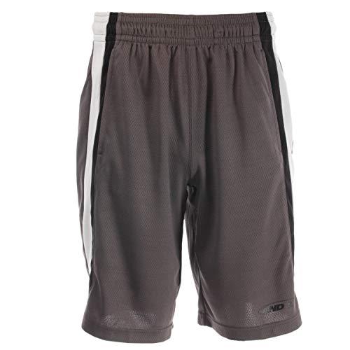 AND1 Basketball Shorts for Men with Pockets Mesh Elastic Waist Mens Shorts Athletic Shorts Men C ...