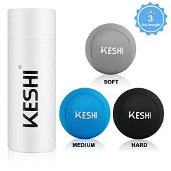 KeShi Hand Stress Balls with 3 Density, Fabric Hand Therapy Grip Ball for Anxiety & Hand Str ...
