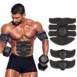 Ben Belle Abs Stimulator, Muscle Toner, Abs Stimulating Belt- Abdominal Toner Training Device fo ...
