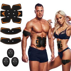 Antmona Abs Stimulator, Muscle Toner – Abs Stimulating Belt- Abdominal Toner- Training Dev ...