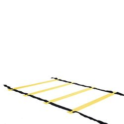 Atezch Agility Ladder Speed Agility Training Ladders with Carrying Bag, 8-Rung/12-Rung Adjustabl ...