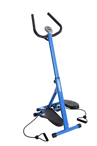 Stamina Space Saving Stepper with Upper Body Cords | Two Free Instructor Guided Online Workouts  ...