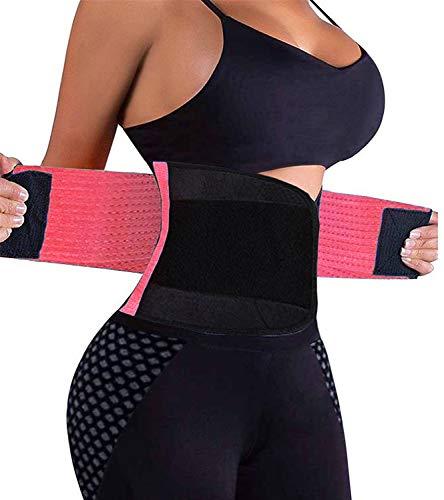 VENUZOR Waist Trainer Belt for Women – Waist Cincher Trimmer – Slimming Body Shaper  ...